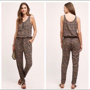 Anthropologie jumpsuit/romper with beading